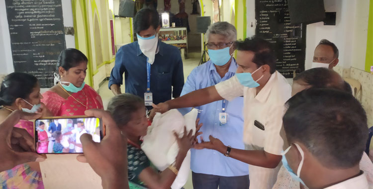 Covid 19 - Recent Activities at various places (Ariyamangalam,Shepherd Villages Suravalipatti, Pallapatti,Navalurkuttapattu,Keeraithotam,Srilankan Refugee,Dharmanathapuram,Lepers Colony and Transgenders)