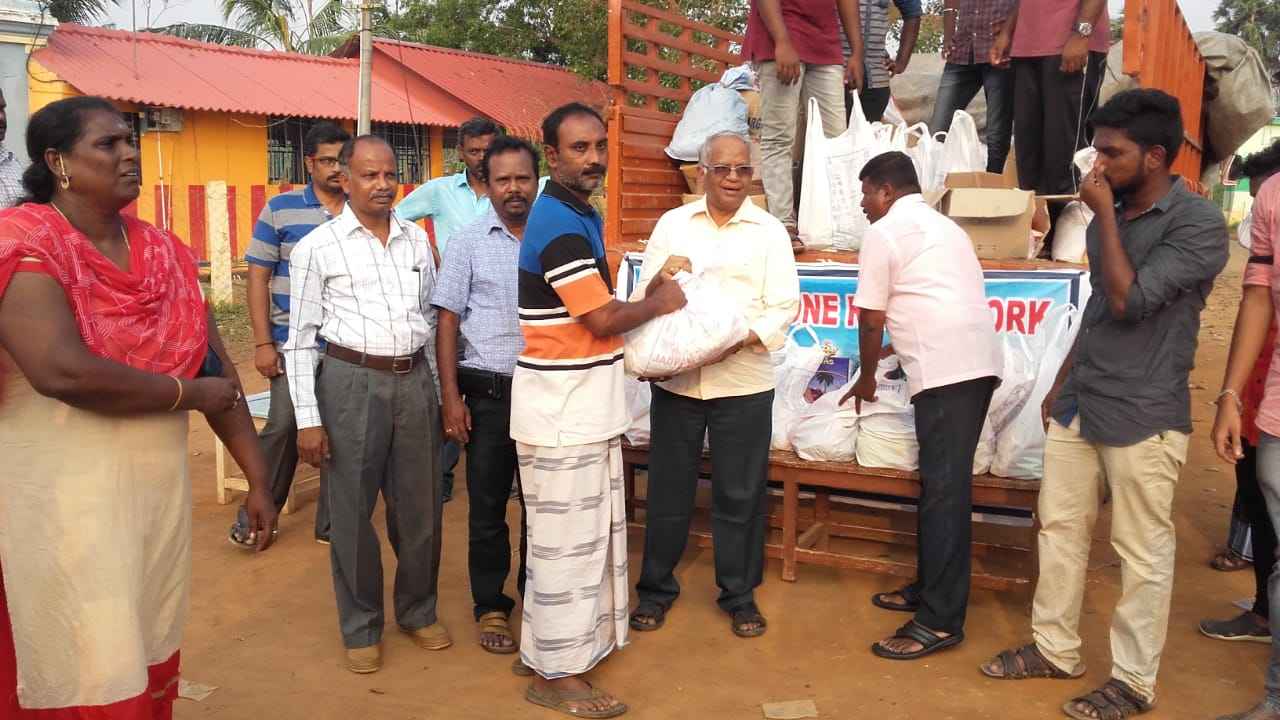 Gaja Relief Work