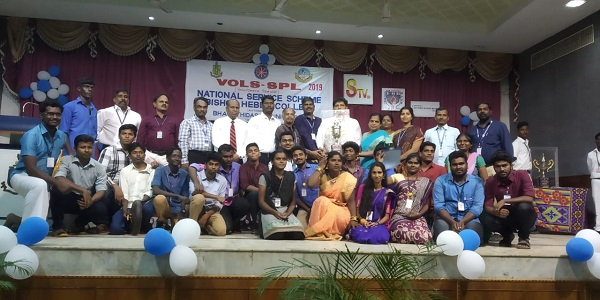 NSS team has won overall first runners up  in the state level intercollegiate competition Volunteers Special 19