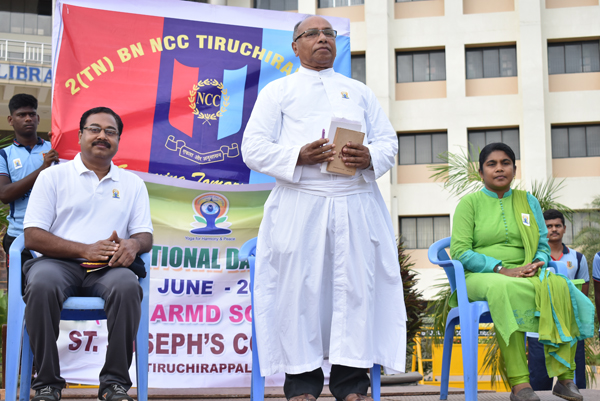 International Day of Yoga - 2(TN) ARMD SQN NCC
